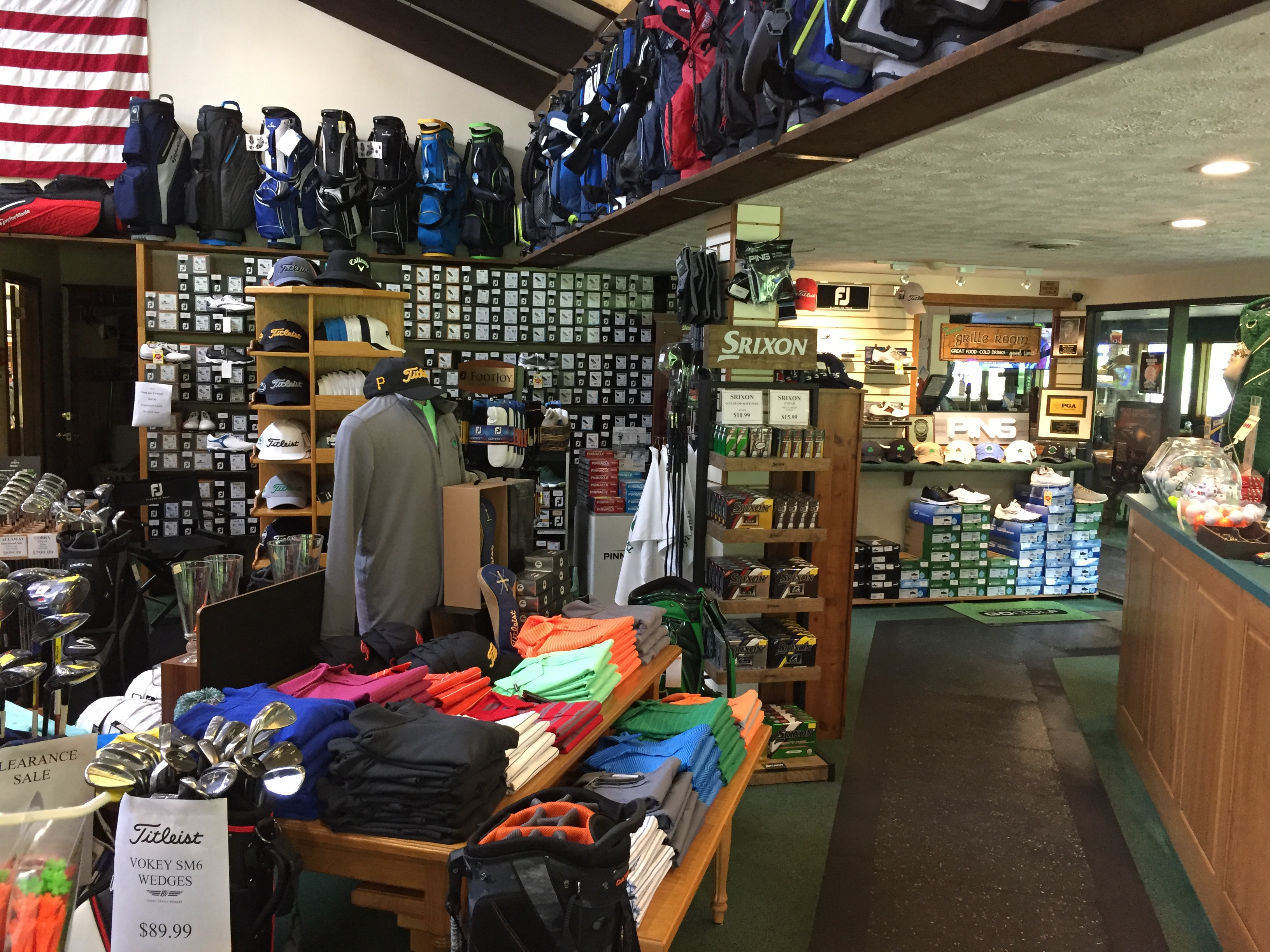 Pro Shop | Tam O'Shanter of Pennsylvania Golf Course